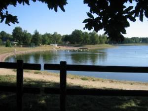 Lac de La Source vu de l\'Allée des Sapins
