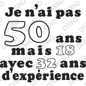 Anniversaire 50 Ans Texte Humour