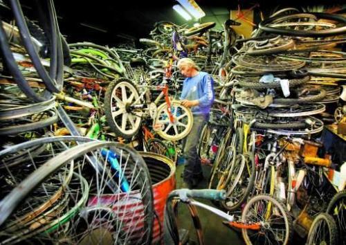 Stock vélos